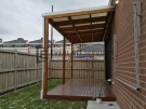 L100 – Timber Pergola with deck
