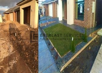 L94 - Before and After Front Landscaping