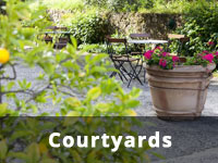 Courtyards Landscaping Melbourne