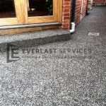 EA30 - Exposed Aggregate + Step
