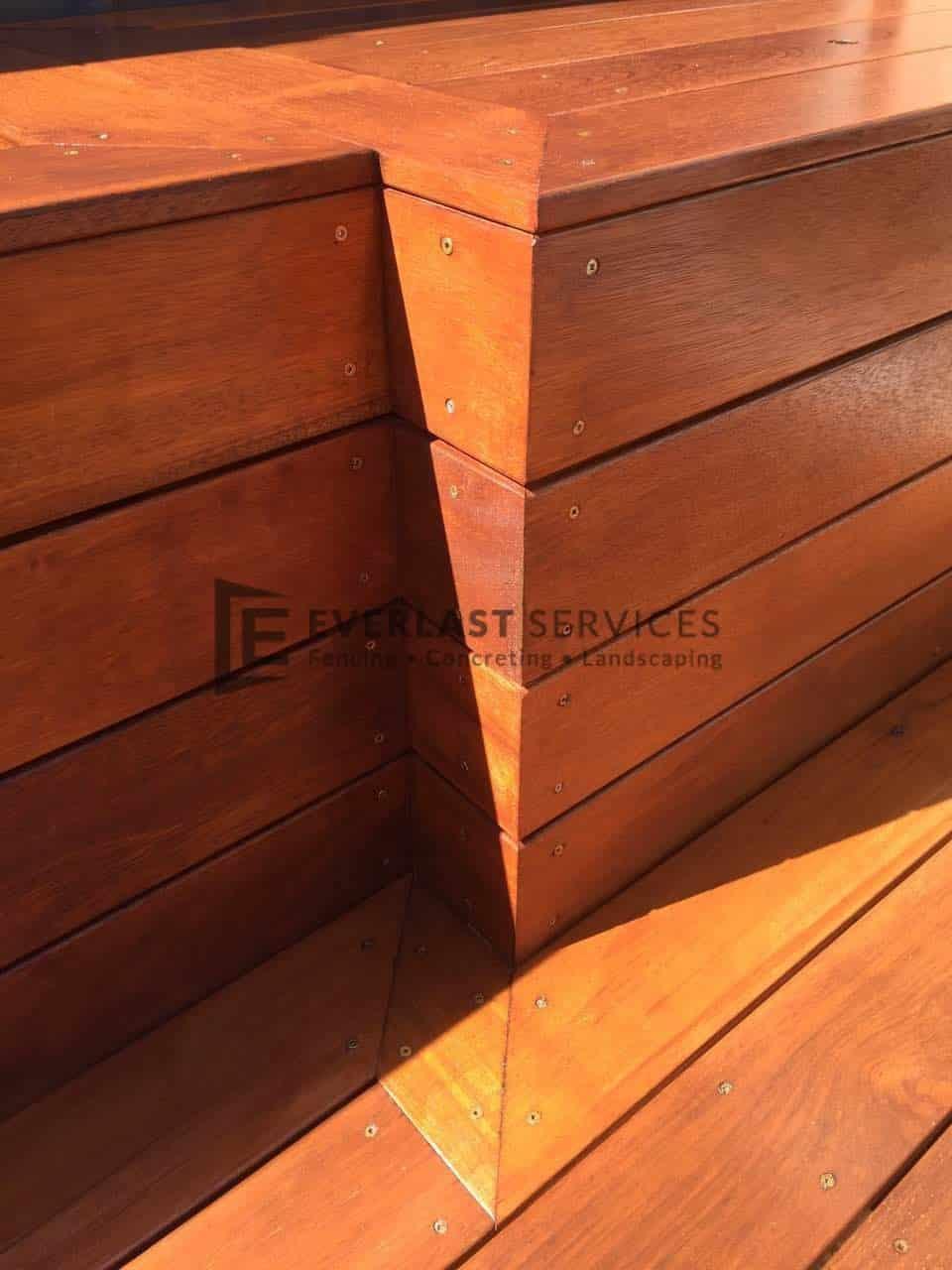 decking storage side view