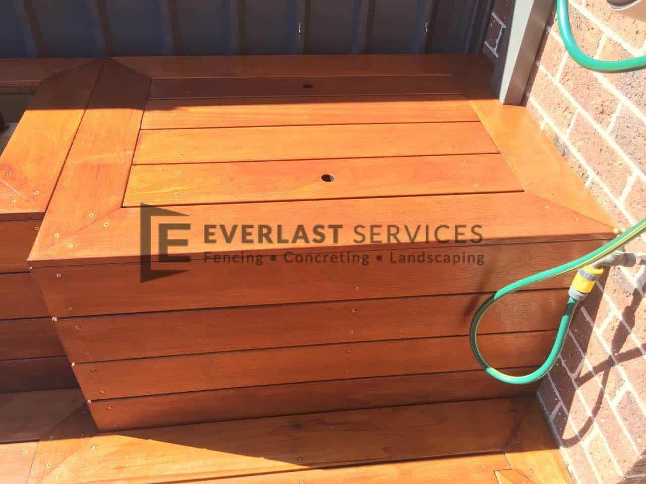 decking storage unit