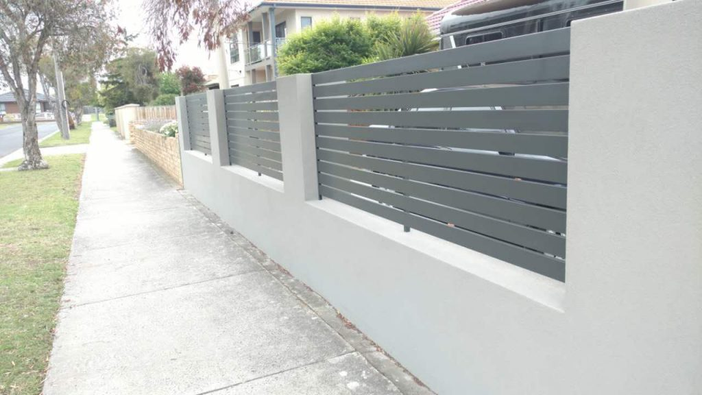 front fence in point cook