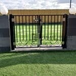 DG38 - Pattern Steel Double Gate