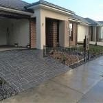 ST16 - Stencil Concrete Driveway