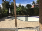 STE6 – Bushrock Stencil Concrete around Pool