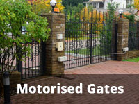 Motorised gates