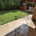 GF4 - Glass Pool Fencing Gate
