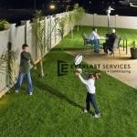 MW 45 - Modular Backyard Fence Children Playing