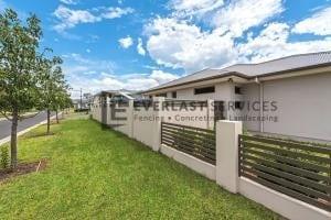MW 51 - Modular Front Fence Slats Backyard Fence