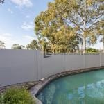 MW 23 - Swimming Pool Backyard Fence + Large Trees