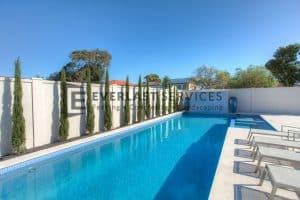 MW 73 - Swimming Pool Trees + Modular Fence