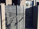 SS110 – Aluminium Slats Single Gate And Panel