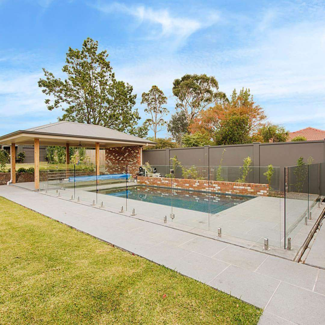 Glass Pool Fencing Melbourne Frameless Glass Fence Panel