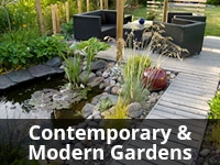 Contemporary Modern Gardens