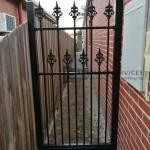 SF144 - Double Heritage Spear Steel Fence