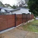SG55 - Kawila Slats Sliding Entry Gate 2