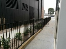 Black-Aluminium-Pickets-Double-Gate