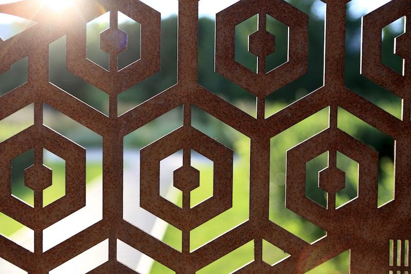 laser cut gates