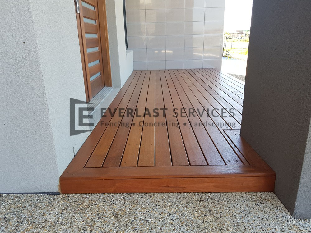 Front Porch Merbau Decking