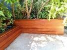 Merbau Garden Box Corners