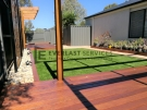 View One Decking + Pergola + Synthetic Grass