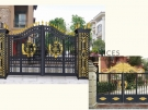 AD2 – Aluminium Art Decor Double Gate
