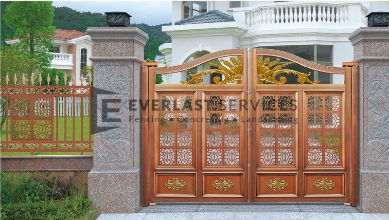 AD3 - Aluminium Art Decor Fencing Orange