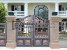 Aluminium Art Decor Front Fence