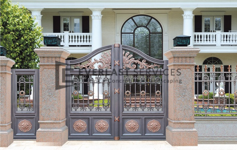AD6 - Aluminium Art Decor Front Fence