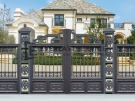 Aluminium Art Decor Grey Fence