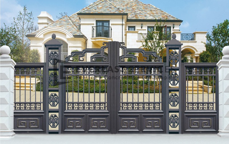 AD7 - Aluminium Art Decor Grey Fence