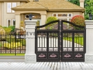 Black Art Decor Fencing