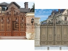 Front Gates Aluminium Art Decor