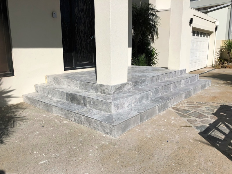 L143 - Marble Outdoor Tiling