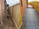 Before and After sides Paving and Decking