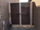DG80 – Paperbark + Kawila Slats Double Gate