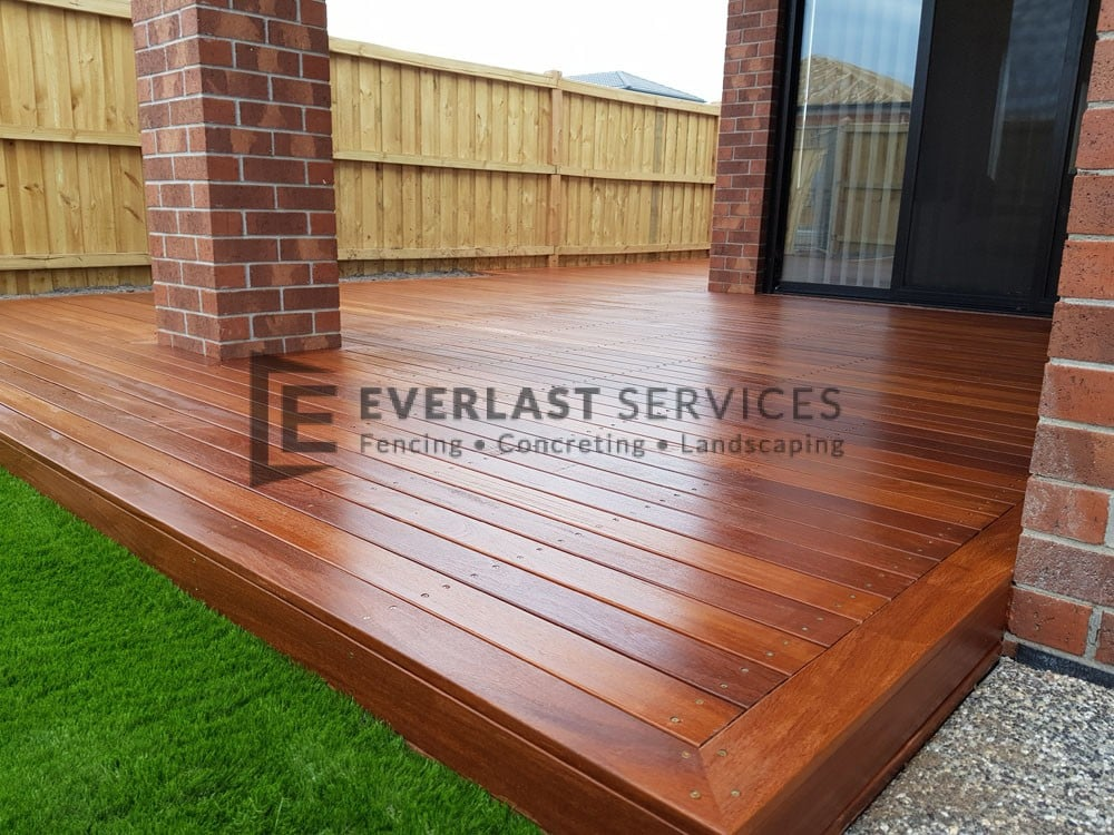Red Cumaru Decking