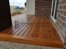 Cumaru Decking Front Porch
