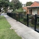 Oxley Ring Steel Single Gate