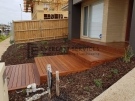 Cumaru Decking Steps