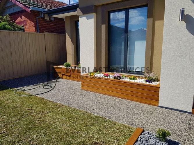 Cumaru Cladded Garden Box