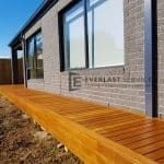 Cumaru Decking On Side