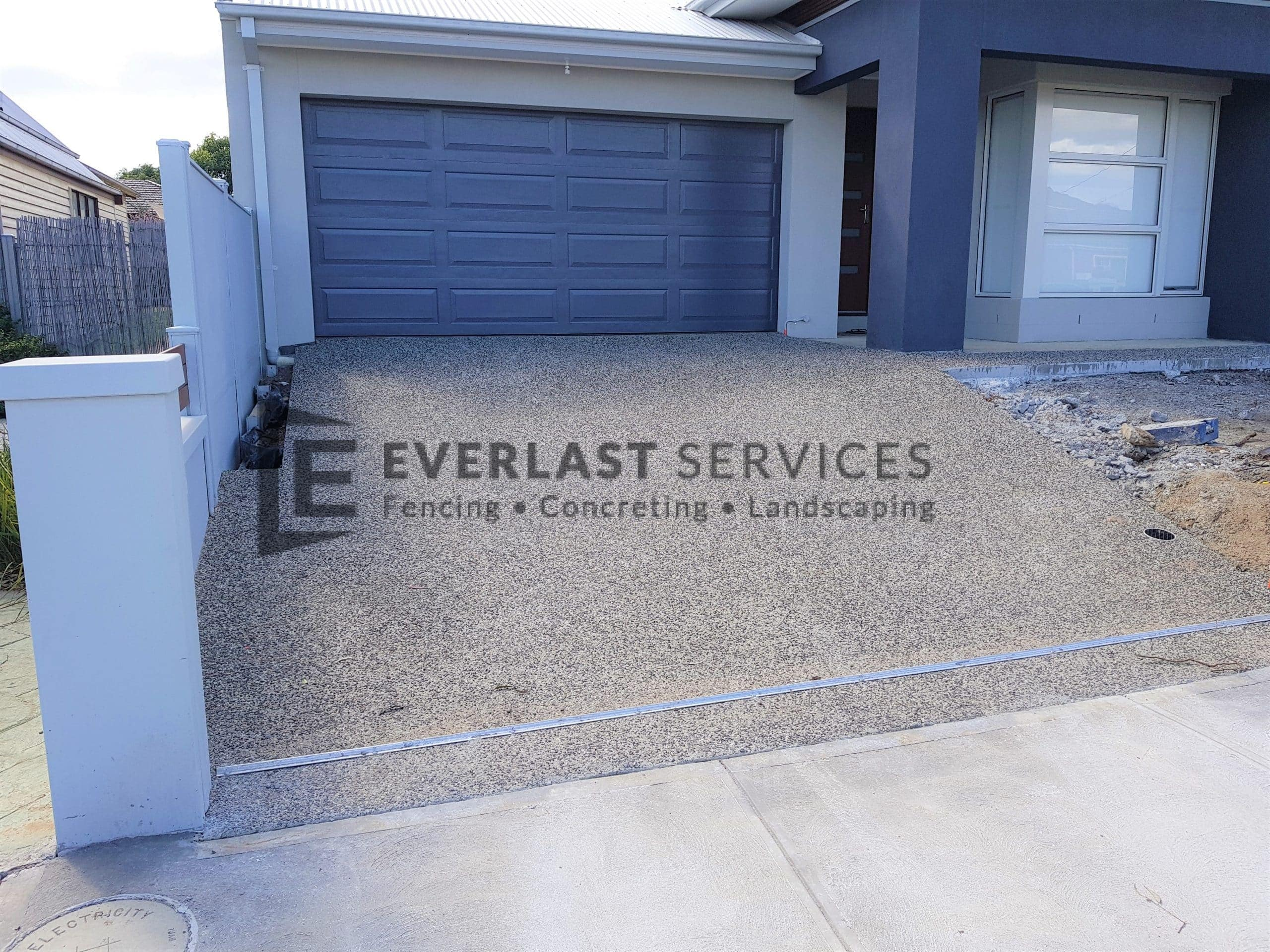 Driveway Exposed Aggregate