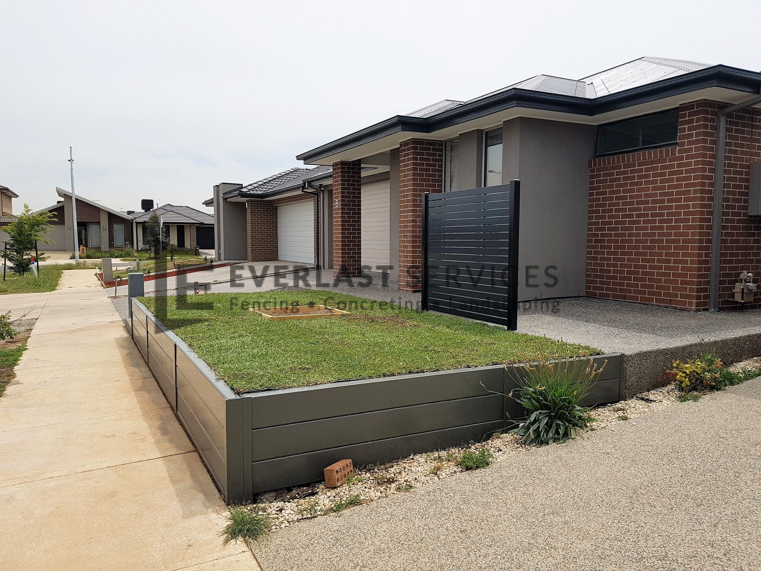 Retaining Walls Melbourne Blocks Concrete Timber