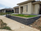 RW3 – Versablock Retaining Wall with Synthetic Grass