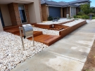 L228 – Decking Steps with Decking Retaining Wall