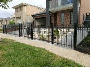 galvanised steel fence melbourne