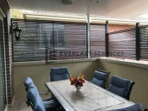 A243 - Louvre Blade Privacy Screen High