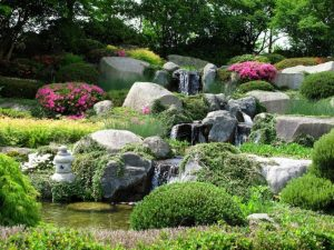 Rockery landscaping
